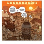 "Remy Cattelin & Afif Khaled  ""Le grand défi""."