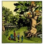 """Lucie Albon  """"Voisins de Cabanes""""."""
