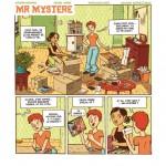 """Moniri, Radomski & Élisa Laget """"Mr Mystère""""."""