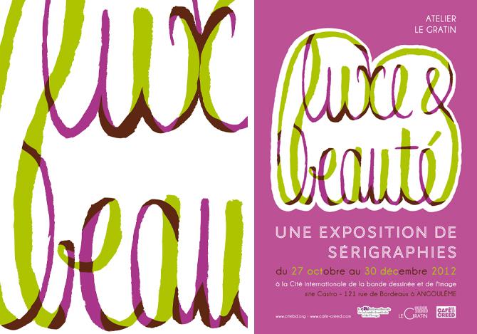 Luxe & beauté, du 27 Octobre au 12 Décembre 2012