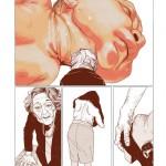"Art Monstre/ Café Creed - Natacha Sicaud ""Repartir, d'après Ron Mueck"""