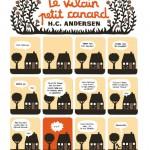 "Art Monstre/ Café Creed - Cléo Germain ""Le vilain petit canard, H.C. Andersen"""