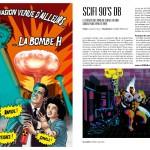 Amazing #0 - illustration : Olivier Garcelon - droite : Sci-fi 90's db // Laurent Crevon + Angèle Villeneuve