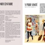 Amazing #0 - Le dernier centaure // Sylvie Nève - droite : V pour vanité // Nicolas Bourgeois + Eyvie