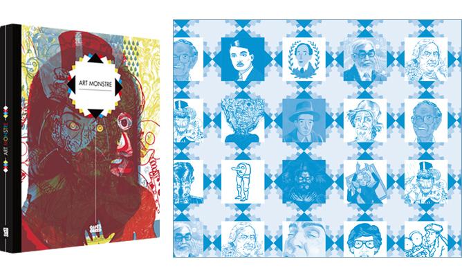 Art Monstre - couverture : Laurent Bourlaud, 2013